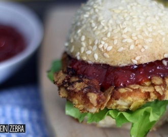 Chicken-Burger mit der weltbesten Sweet Chili Sauce! | #Degustabox