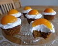 """Sunny Side Up"" Carrot Cupcakes"