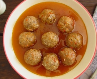 Meatballs with beer sauce