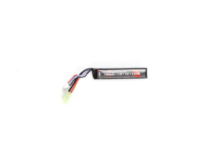 Li-Po 7.4V - 1300mAh - Stock Tube