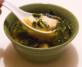 Hearty Soup Asian Style - Miso Soup It Is