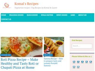 Komal's Recipes