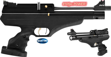 Hatsan AT-P1 - PCP Pistol - 4.5mm