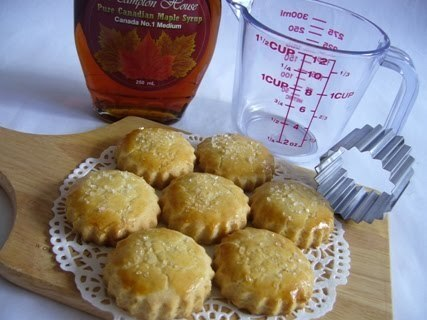 Maple Syrup Shortcake Biscuits