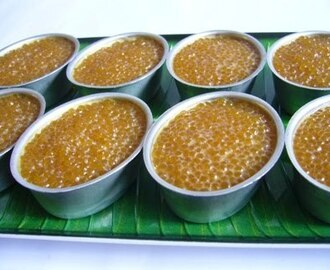 Sago Coconut Mlik Layer Kuih
