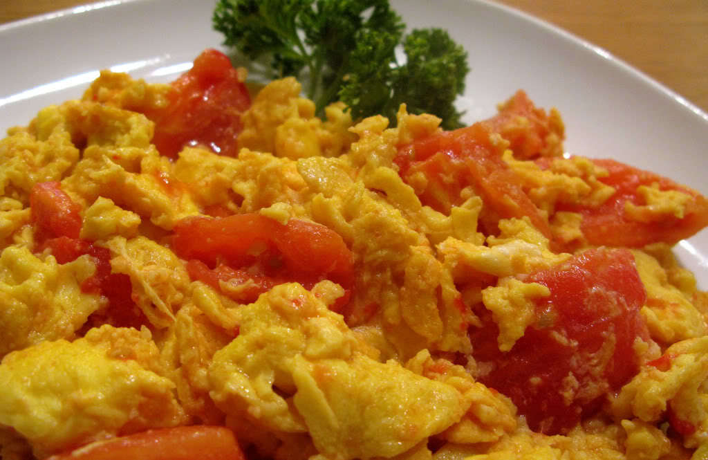 Scrambled Eggs with Tomato - Every Taiwanese Should Know This Dish