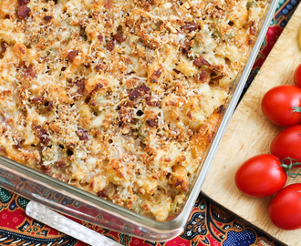 Cauliflower Mac and Cheese #SundaySupper