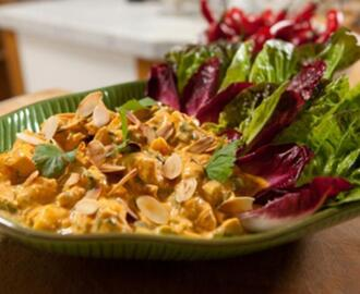 Coronation chicken of the hairy bikers