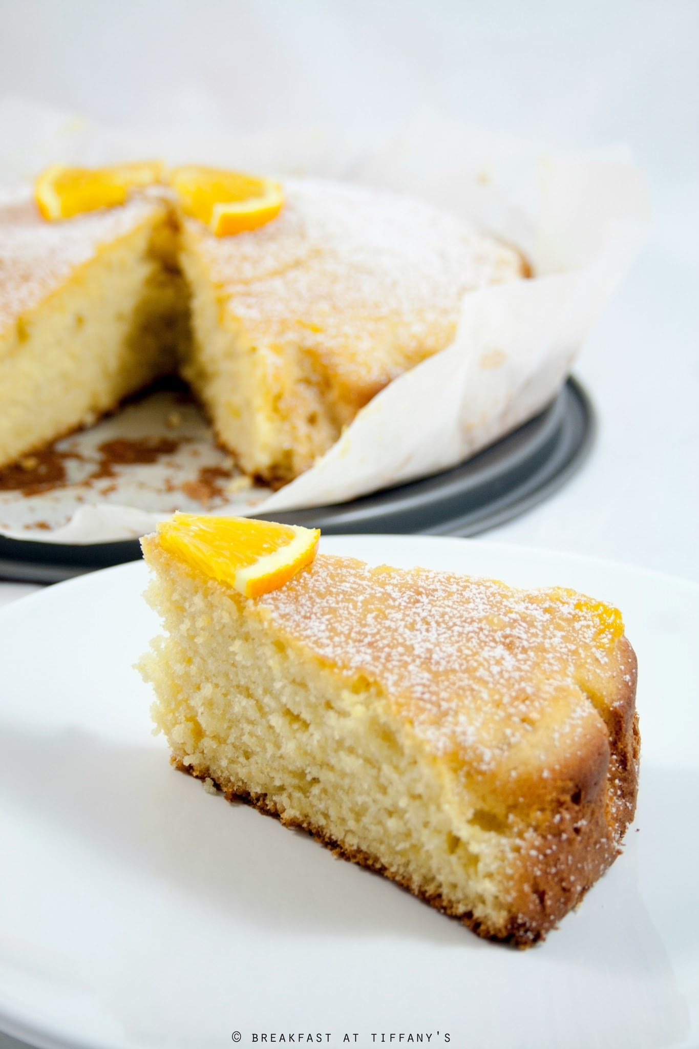 Torta all'arancia / Orange cake recipe