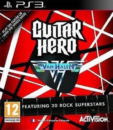 Guitar Hero Van Halen PS3 spel