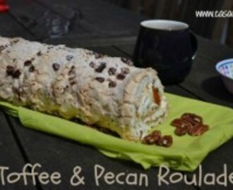 Toffee & Pecan Roulade – Bake of the Week