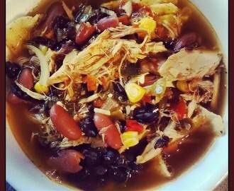 Easy Mexican Tortilla Soup