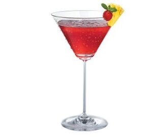 Pinnacle® Pineapple Raspberry Martini