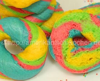 Rainbow Bagel | Food-Trend aus New York