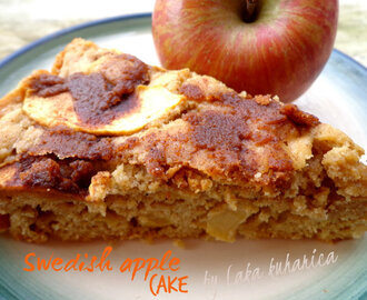 Švedski kolač s jabukama :: Swedish apple cake