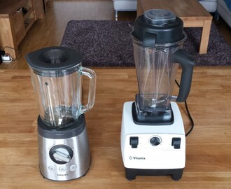 Mein kleiner Mixer-Test: Vitamix vs. Philips