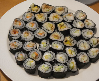 Vegetarisches Sushi - Meditatives Futterbasteln