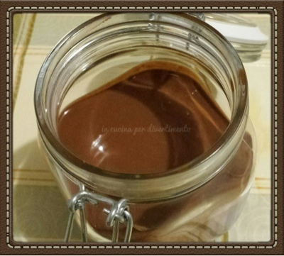 Nutella homemade con Cuisine Companion