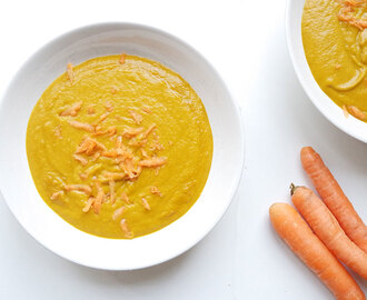 Curry Süßkartoffel Karotten Suppe