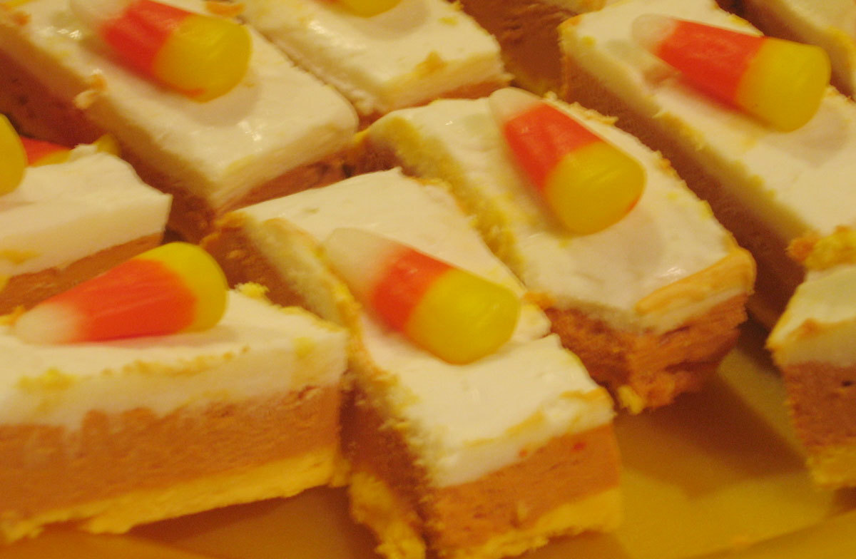 grandpa's favorite candy corn fudge