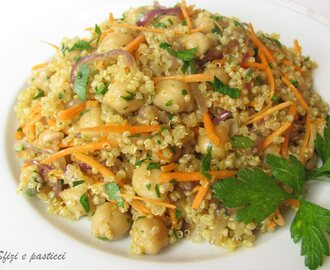 Quinoa al curry