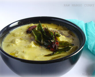 Raw Mango Curry (Pachamanga Curry)