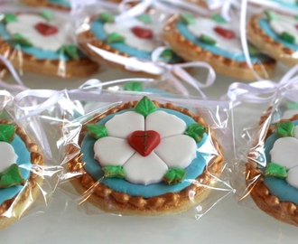 Eine Luther Rose zur Konfirmation - Confirmation Cookies with Luther Rose