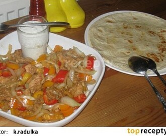Wrap tortillas
