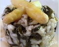 Spargel-Spinat-Risotto