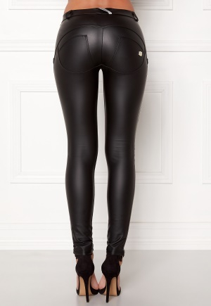 FREDDY WR.UP Shaping LW Legging Black Eco Leather XL