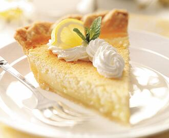Lemon Custard Pie Recipe | Taste of Home