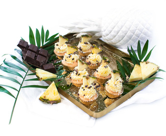 Ananas Kokos Cupcakes - The Pineapple Party: