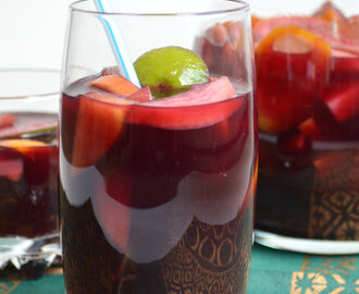 Stone Fruit Sangria for #SundaySupper