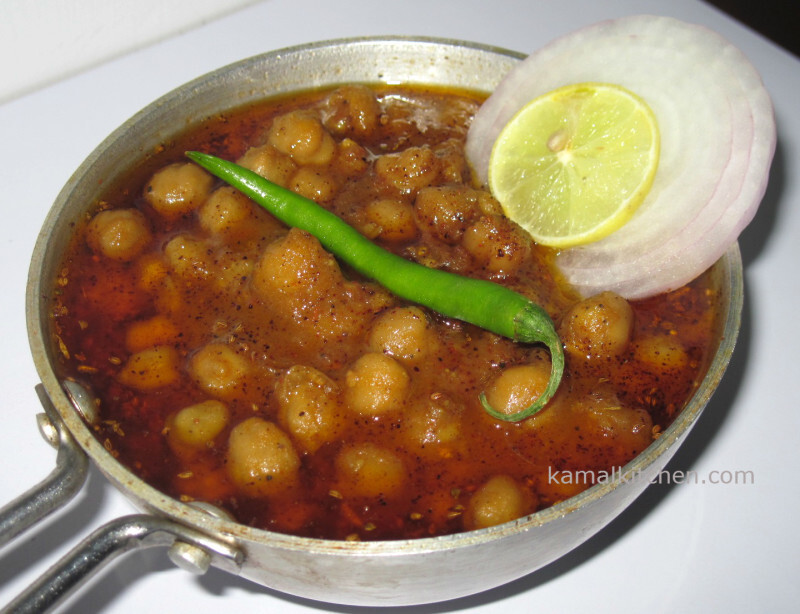 Chana Masala or Chole recipe – Indian Chickpea Curry – Meatless Monday