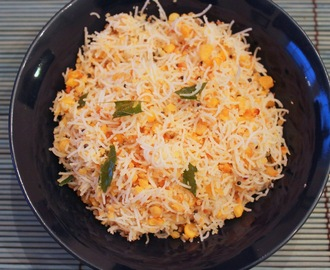 Paruppu Usili Sevai /  Rice Noodles with Spiced Lentils