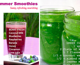 Summer Cleanse + Smoothies