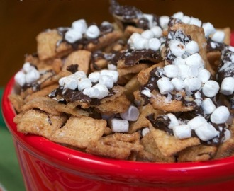 Easy S'mores Snack Mix