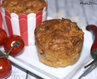 Chili-Hafer-Muffins Rezept {Sponsored Post}