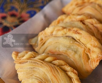 Spiral Chicken Curry Puffs Epok-Epok / Karipap Pusing