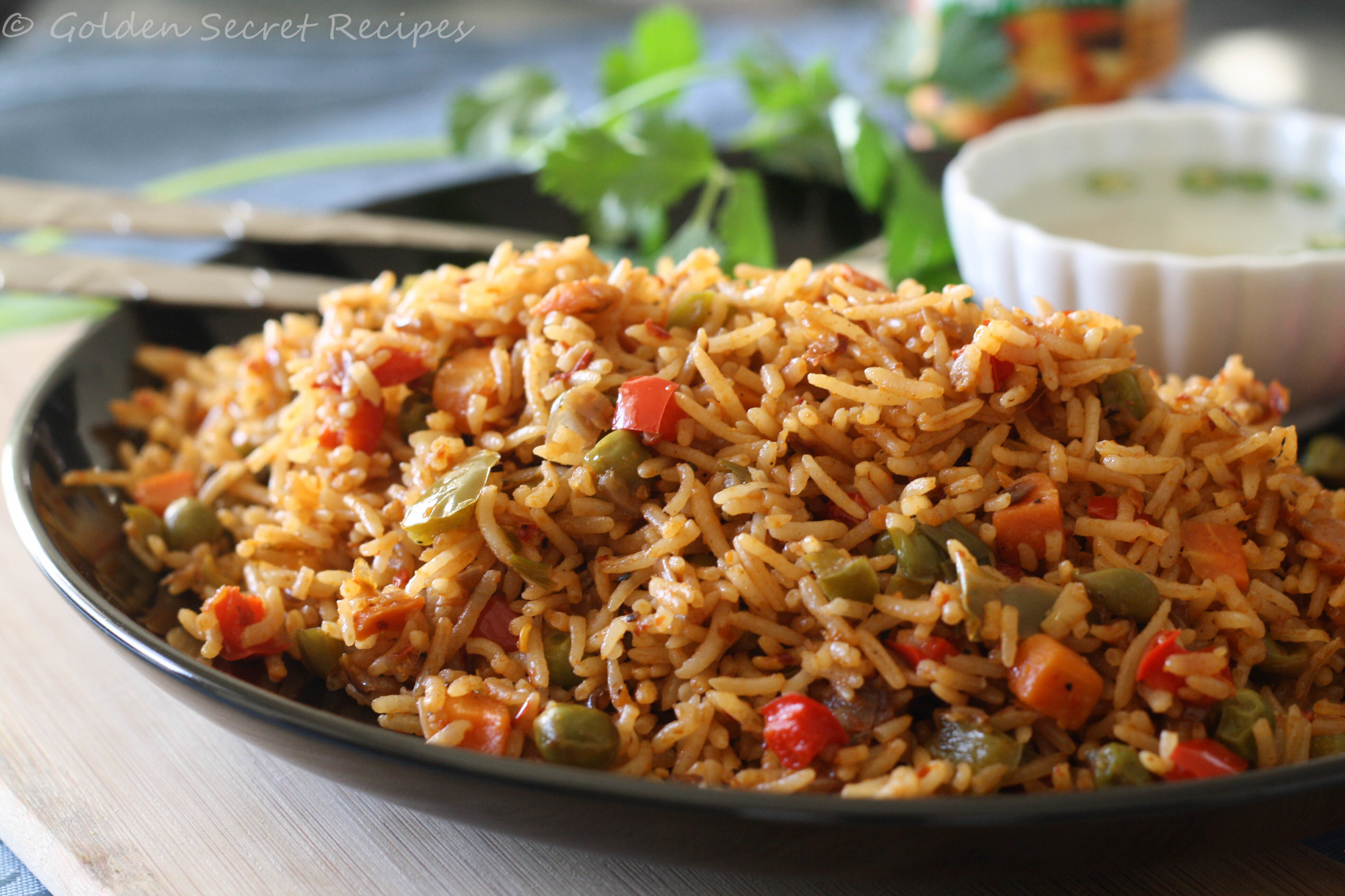 Schezwan Veg Fried rice