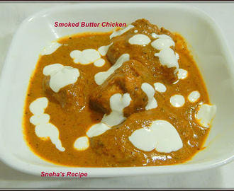 Smoked Butter Chicken