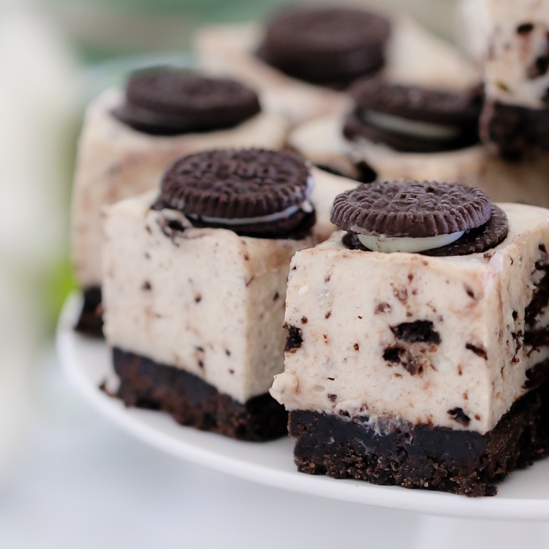 Thermomix Cookies & Cream Slice