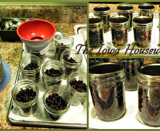 Home Canned Black Beans