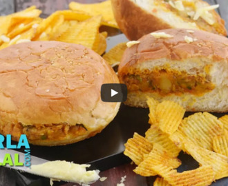 Tava Cheese Burger Recipe Video