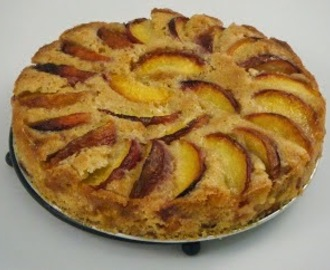 Peach Cake with Peach Schnapps is a Great Way to Use Summer Peaches