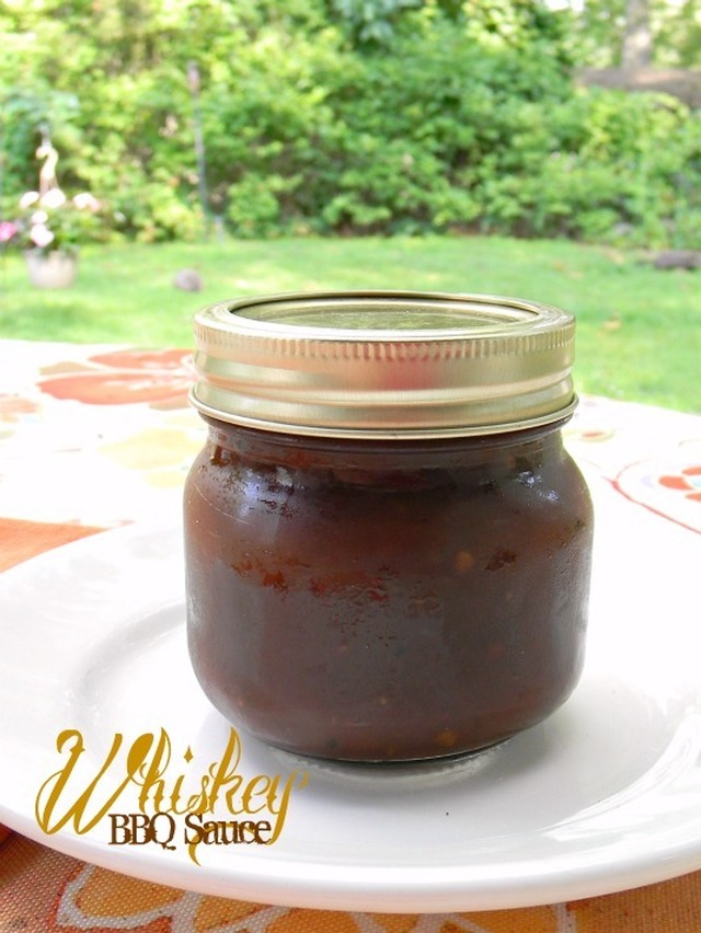 Whiskey BBQ Sauce ♥ Cooking with Spirits - Recipe Redux Challenge July 2014