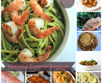 101 Healthy Dinner Recipes
