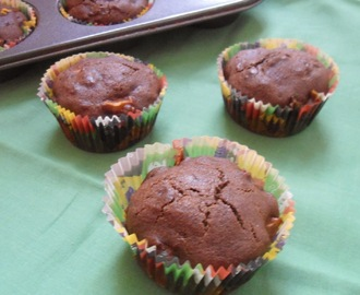 Apple chocolate Muffins | Vegan Mufffins | Eggless &Butterless
