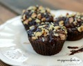 Chokladmuffins - Flourless Chocolate Nut Butter Muffins