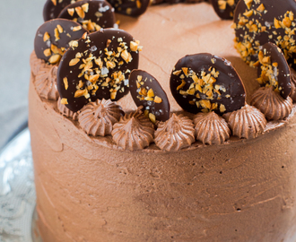 Snickers torta by Bake Noir